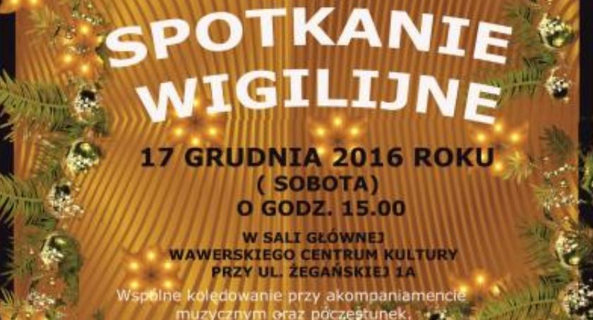 News, Spotkanie wigilijne Wawrze - zdjęcie, fotografia