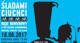 Rajd rowerowy w 103. rocznicę kolejki wąskotorowej