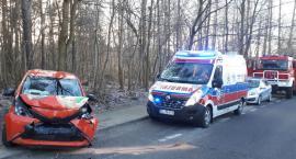 Wypadek na ul. Złotej Jesieni. Straż pożarna publikuje zdjęcia
