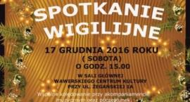 Spotkanie wigilijne w Wawrze