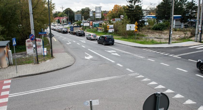 Ulice i place, Będzie rondo skrzyżowaniu Praskiego Pułku Mazowieckiej - zdjęcie, fotografia