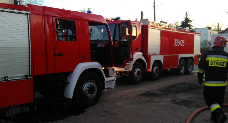 Bezpieczeństwo, Pożar Warszawskiej Straż publikuje zdjęcia - zdjęcie, fotografia