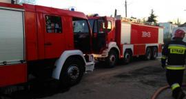 Pożar przy Warszawskiej. Straż publikuje zdjęcia