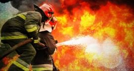Pożar domu przy ulicy 1. Praskiego Pułku