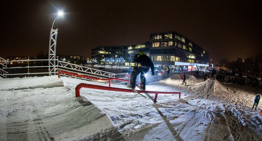 Inne dyscypliny, Otwarcie Royal Snowparku - zdjęcie, fotografia