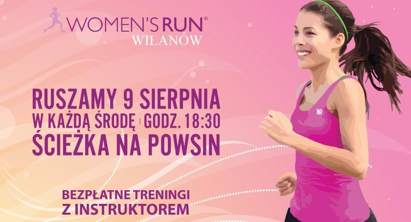Bieganie, Bezpłatne treningi Womens Wilanów - zdjęcie, fotografia