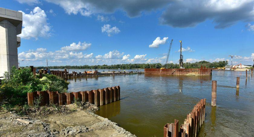 Inwestycje, Budowa mostu Południowego opóźnieniem Termin nierealny - zdjęcie, fotografia