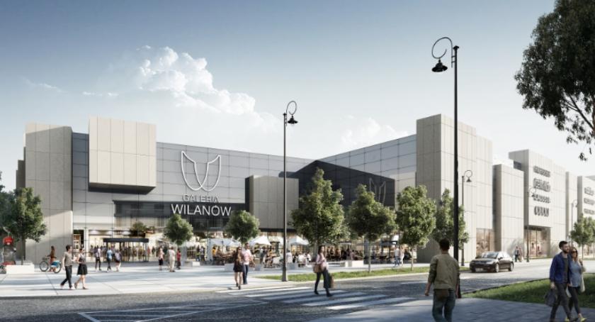 Handel i usługi, zgody budowę galerii handlowej Wilanowie - zdjęcie, fotografia