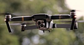 Drony nad Wilanowem