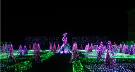 Królewski Ogród Światła wraca do Wilanowa