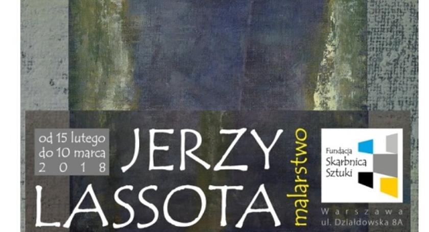 Wystawy, Wystawa malarstwa Jerzego Lassoty - zdjęcie, fotografia