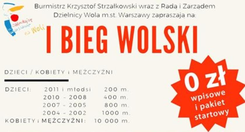 Bieganie, Wolski najbliższy weekend! - zdjęcie, fotografia