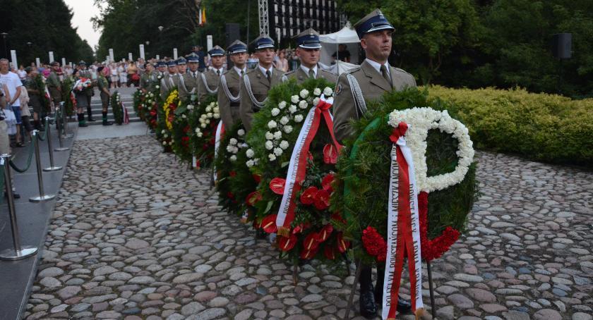 Historia, Uroczystości Cmentarzu Powstańców Warszawy - zdjęcie, fotografia
