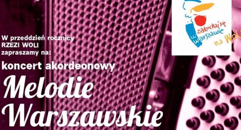 """Historia, Koncert akordeonowy """"Melodie warszawskie"""" - zdjęcie, fotografia"""