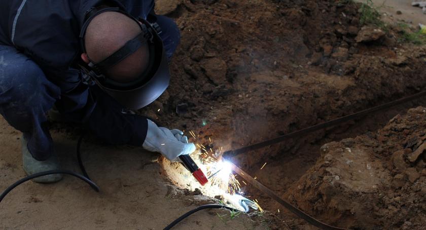 News, Uszkodzenie gazociągu okoliczni mieszkańcy - zdjęcie, fotografia
