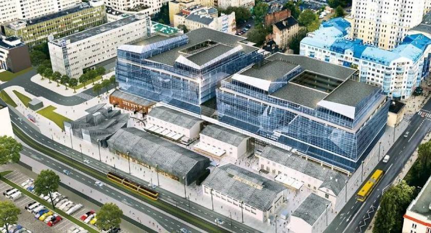Inwestycje, centrum handlowe biura muzeum wszystko Woli! - zdjęcie, fotografia