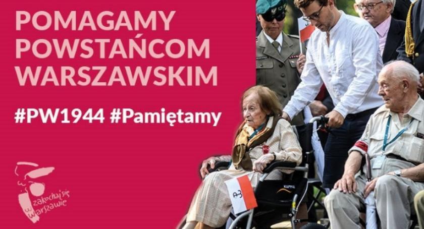 Inwestycje, otworzy wsparcia powstańców warszawskich - zdjęcie, fotografia