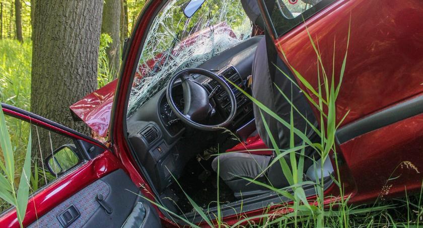 Wypadki, Honda dachowała Górczewskiej - zdjęcie, fotografia