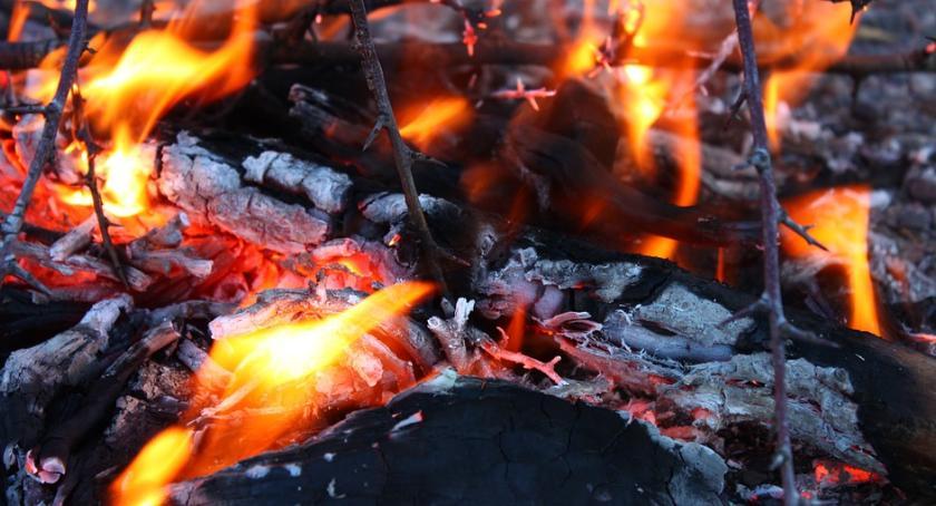 Pożary, Pożar kamienicy Odolanach - zdjęcie, fotografia