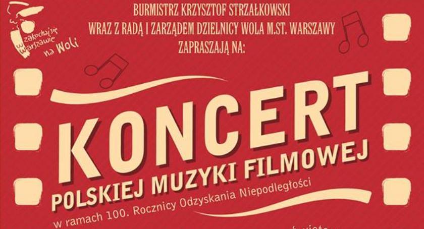 Koncerty – muzyka – płyty, Koncert Polskiej Muzyki Filmowej parafii Wojciecha - zdjęcie, fotografia