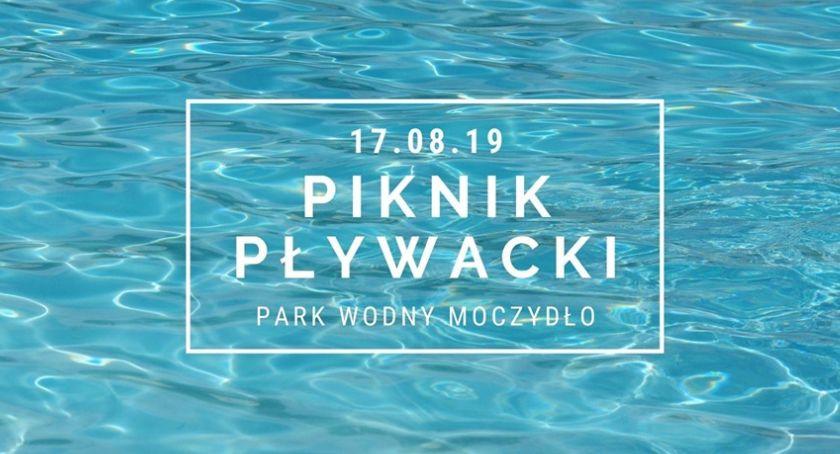 Imprezy - wydarzenia, Letni Piknik Pływacki Parku Wodnym Moczydło [ZAPROSZENIE] - zdjęcie, fotografia