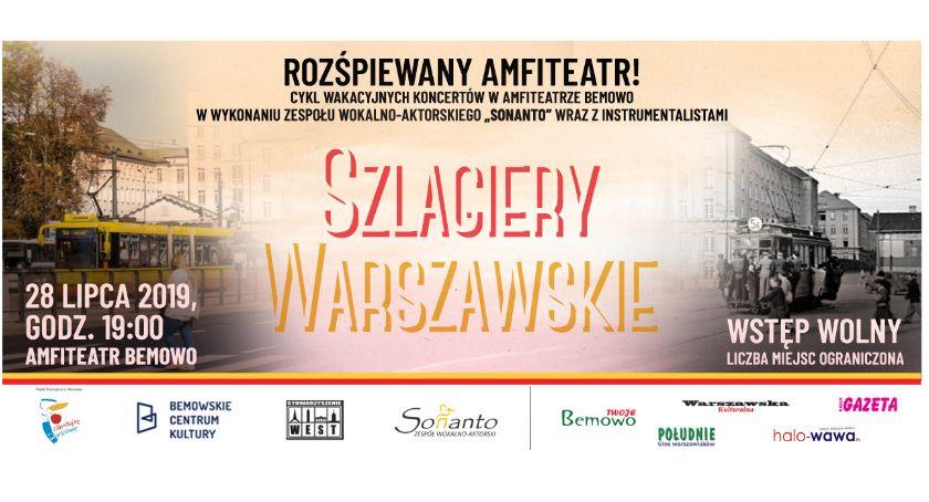 Imprezy - wydarzenia, wakacyjnych koncertów amfiteatrze Bemowo wstęp wolny! - zdjęcie, fotografia
