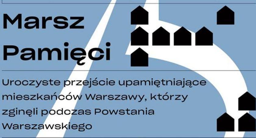 Historia, Marsz Pamięci rocznicę Powstania Warszawskiego - zdjęcie, fotografia