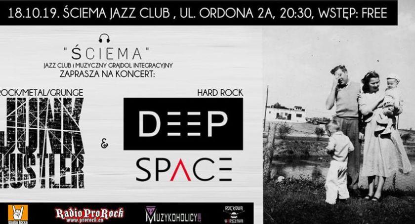 Koncerty – muzyka – płyty, Koncert HUSTLER SPACE Wstęp free! - zdjęcie, fotografia