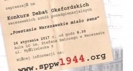 Powstanie Warszawskie oczami uczniów.