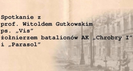 Spotkanie z bohaterem Powstania Warszawskiego.