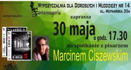 Spotkanie z Marcinem Ciszewskim – pisarzem, autorem kryminałów