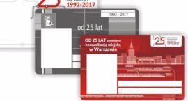 Nowa okolicznościowa Warszawska Karta Miejska