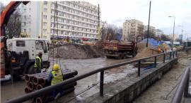 Zaawansowane prace na zachodnim odcinku II linii metra.