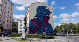 Mural na Płockiej już gotowy