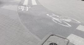 Koło rowerowe – kontraruch i stojaki na rowery na Kole