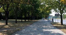 Nowe chodniki i droga rowerowa na Woli