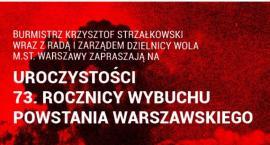 Uroczystości 73. rocznicy wybuchu Powstania Warszawskiego na Woli