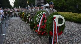 Uroczystości na Cmentarzu Powstańców Warszawy