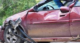 Wypadek samochodowy na rondzie Lubomirskiego