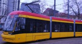 Zderzenie tramwaju z samochodem na Obozowej