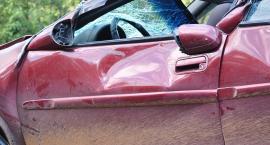 Zderzenie tramwaju z autem na Okopowej