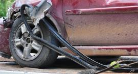 Wypadek na skrzyżowaniu Wolskiej i Prymasa Tysiąclecia