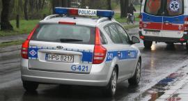 Radiowóz zderzył się z osobówką na Okopowej