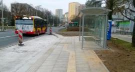 Nowy przystanek autobusowy na Nowolipkach