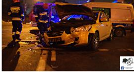Kolejny wypadek u zbiegu ulicy Wolskiej i Prasa Tysiąclecia