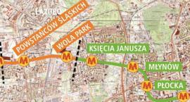 Jest decyzja w sprawie kolejnych dwóch stacji metra