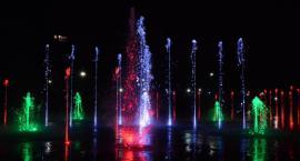 Już są multimedialne fontanny w Parku Szymańskiego