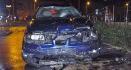 Wypadek na Górczewskiej. Kierowca uciekł z miejsca zdarzenia