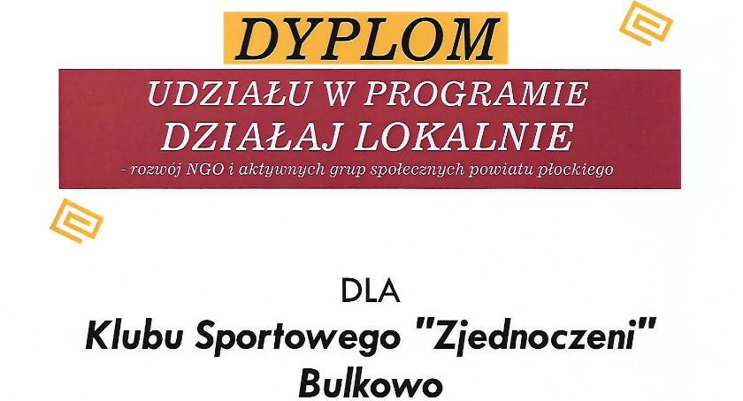 Sport, PODSUMOWUJĄCA PROGRAM Działaj Lokalnie Bulkowie - zdjęcie, fotografia