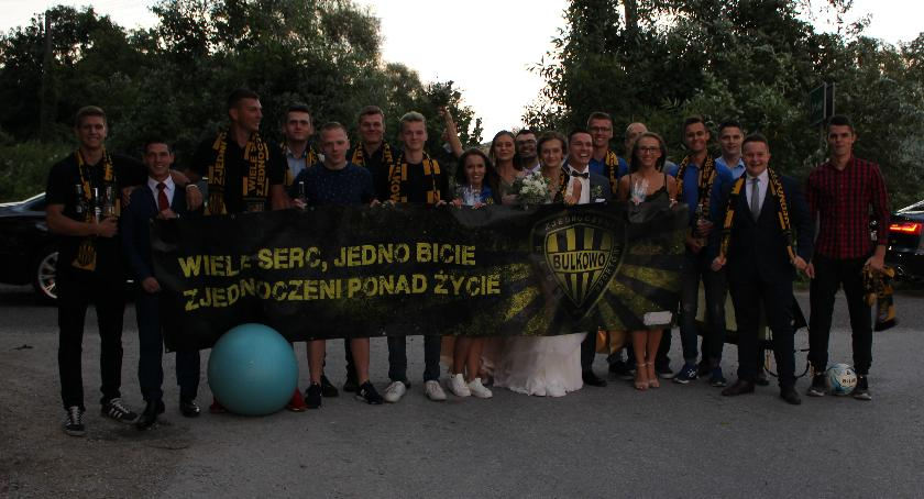Sport, ŚLUB PAWŁA JUSTYNY Zjednoczeni Bulkowo - zdjęcie, fotografia